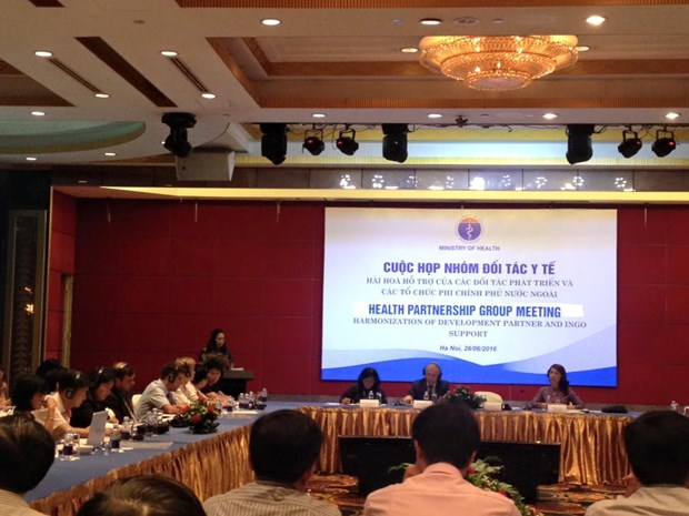 INGOs' support for health sector discussed in Hanoi hinh anh 1