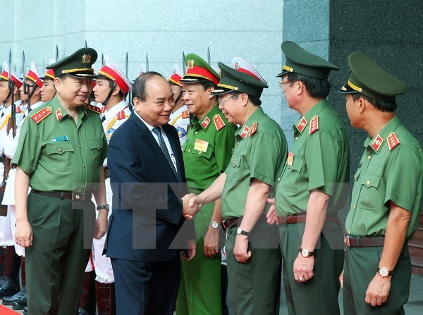 Public security force urged to enhance capacity hinh anh 1