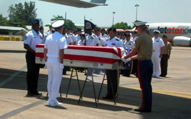 US servicemen's remains handed over hinh anh 1