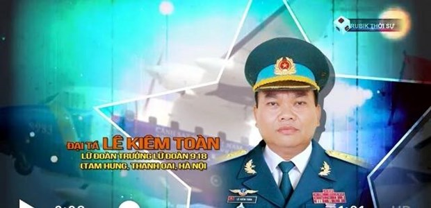 10 martyrs who died in two military aircraft accidents honoured hinh anh 1