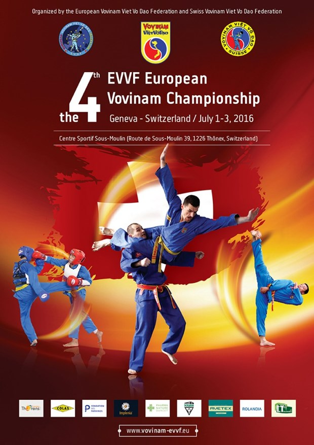 Switzerland to host 4th European Vovinam Championship hinh anh 1