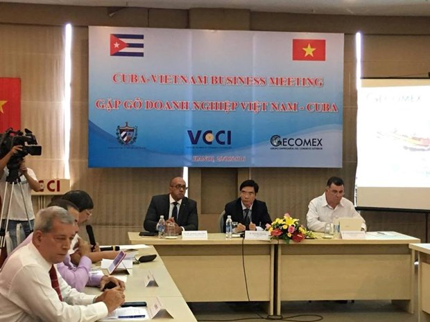 Vietnam, Cuba businesses meet in Hanoi to seek partnership hinh anh 1