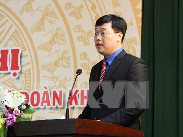 Lao Vice President welcomes Vietnamese youth delegation hinh anh 1