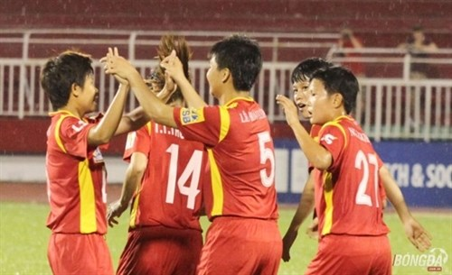 Vietnamese women footballers rise in world rankings hinh anh 1