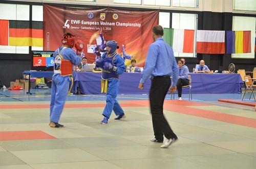 Fourth European Vovinam Championship held in Switzerland hinh anh 1