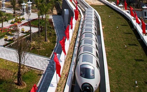 HCM City plans 8.4 trillion VND monorail line hinh anh 1