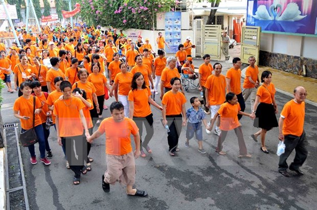 Various activities to mark AO Victims' Day hinh anh 1