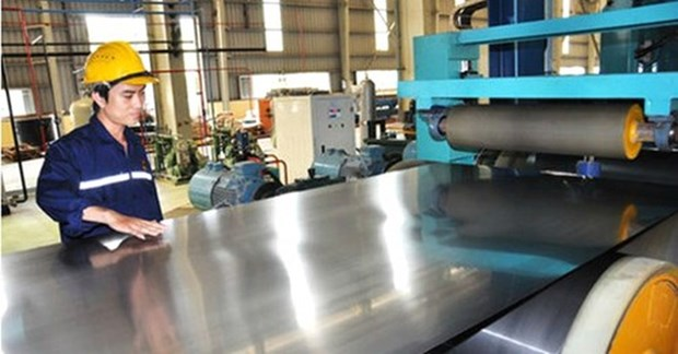Self-defence measures considered for imported colour-coated iron sheet hinh anh 1