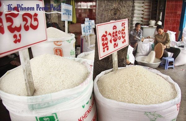 Cambodia's rice export sees decrease in H1 hinh anh 1