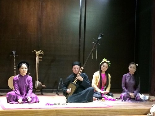 Vietnamese traditional music and culture show hinh anh 1