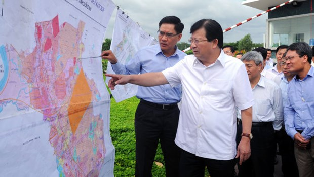 Work on Long Thanh airport must start in 2019: Deputy PM hinh anh 1