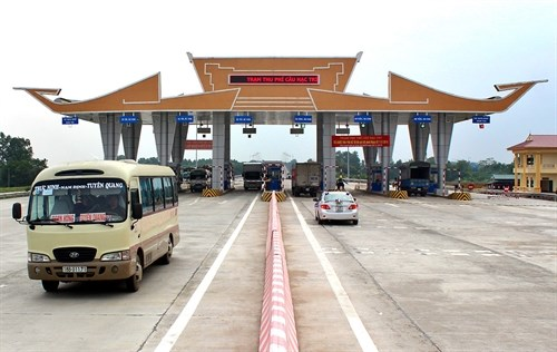 Automatic toll system delayed hinh anh 1