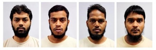 Singapore jails four Bangladeshis for terrorist financing hinh anh 1