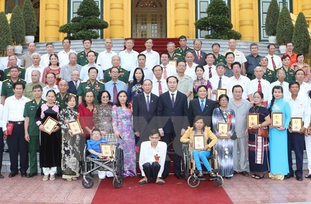 All dioxin victims should gain access to support policies: President hinh anh 1