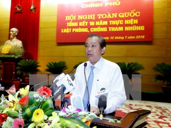 Improved legal framework needed to prevent corruption hinh anh 1