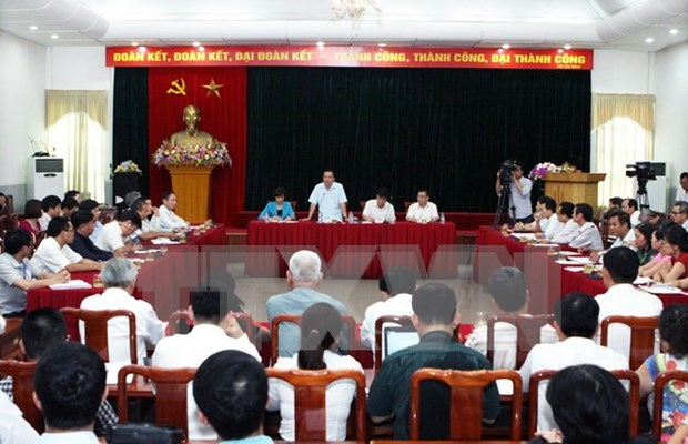 Conference promotes coordination in receiving, addressing complaints hinh anh 1