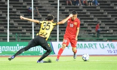 Vietnam beat Malaysia at AFF event hinh anh 1