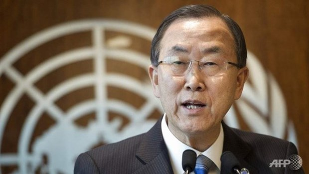 UN chief calls on East Sea dispute parties abide by law hinh anh 1