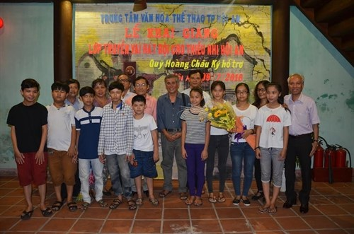 Hoi An launches classical drama course for children hinh anh 1