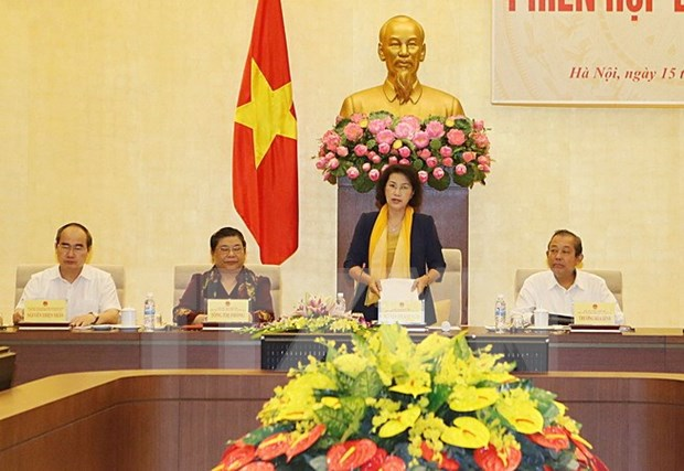 National Election Council convenes last plenary meeting hinh anh 1