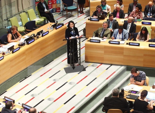 Vietnam calls for int'l assistance for climate change adaptation hinh anh 1