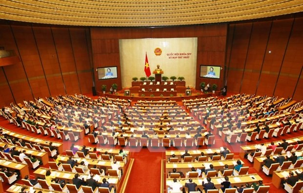 14th National Assembly begins first session hinh anh 1