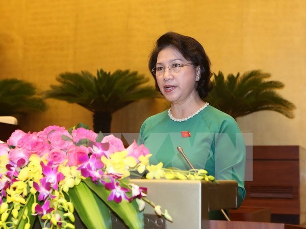 14th NA considers key positions for legislative body hinh anh 1