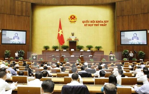 New NA's first session elects key legislators hinh anh 1
