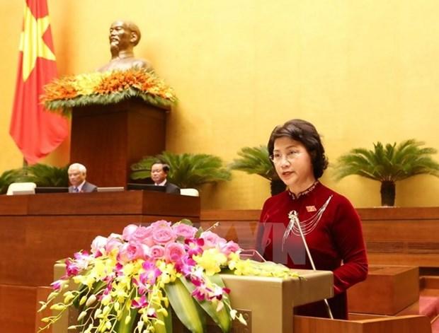 Biography of NA Chairwoman Nguyen Thi Kim Ngan hinh anh 1