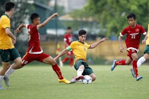 Vietnam through to U16 ASEAN football's final hinh anh 1