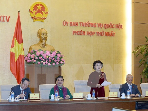 14th NA Standing Committee convenes first session hinh anh 1
