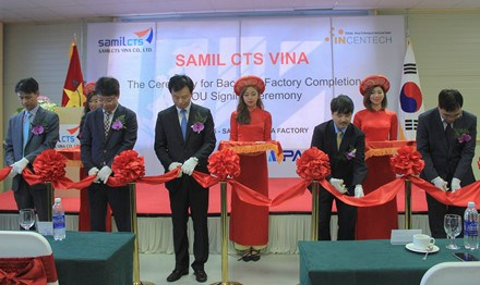 RoK's firm opens plant, research centre in Bac Ninh hinh anh 1