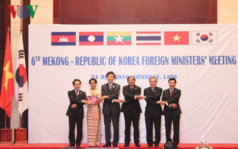 Foreign ministers scrutinize Mekong-RoK links hinh anh 1