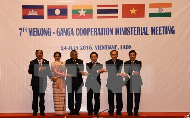 Mekong-Ganga cooperation meeting issues joint statement hinh anh 1