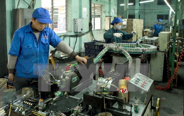 Hanoi's industrial production up 7 percent in 7 months hinh anh 1