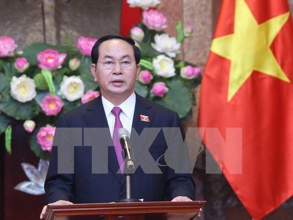United resolve needed to perform focal tasks: President hinh anh 1