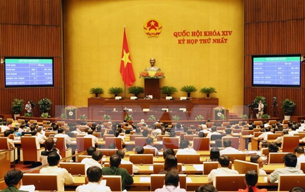 First session of 14th legislature: government personnel discussed hinh anh 1