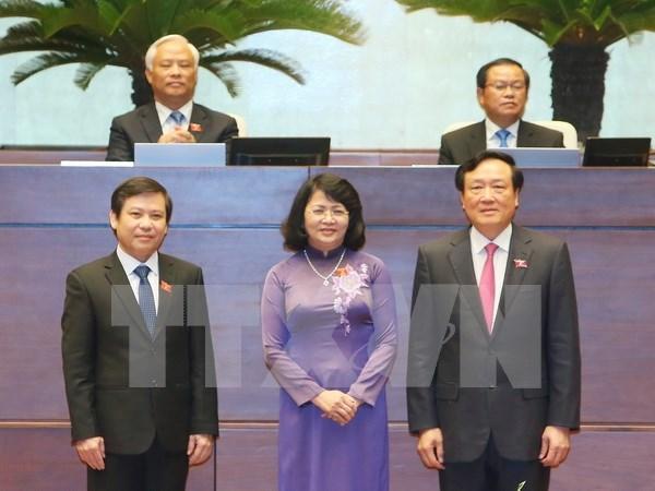 Legislators elect high-ranking officials hinh anh 1