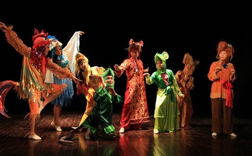 Vietnam theatre group attends festival of children's performing art hinh anh 1