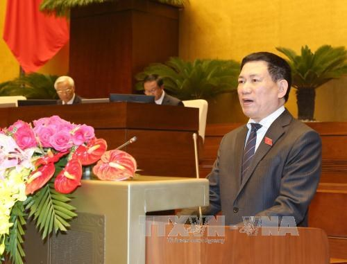 Cabinet member appointment approved in NA session hinh anh 1