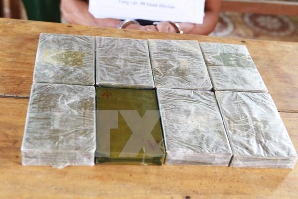 Son La: illegal drug transporter arrested hinh anh 1
