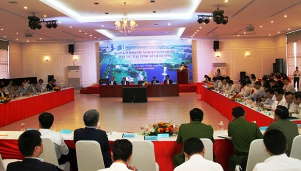 Binh Duong authorities hold dialogue with RoK investors hinh anh 1