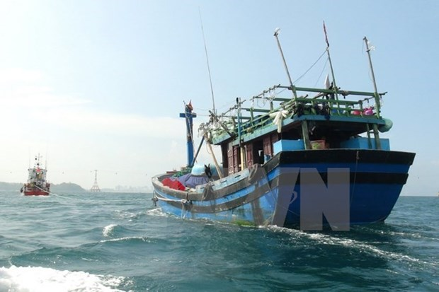 Fishermen in distress off Tonkin Gulf saved by China hinh anh 1