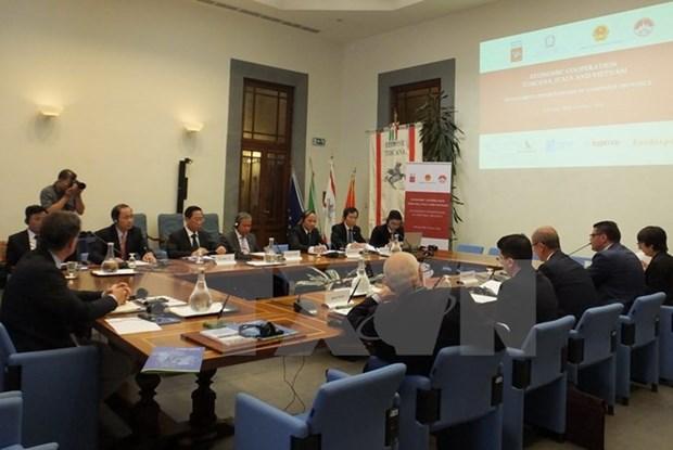 Vinh Phuc seeks partnerships with Italy's Tuscany hinh anh 1