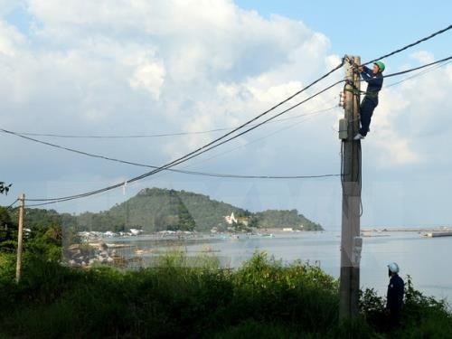 Kien Giang power supply projects benefit islanders hinh anh 1