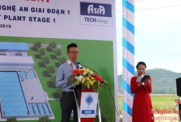 VSIP Nghe An builds wastewater treatment plant hinh anh 1