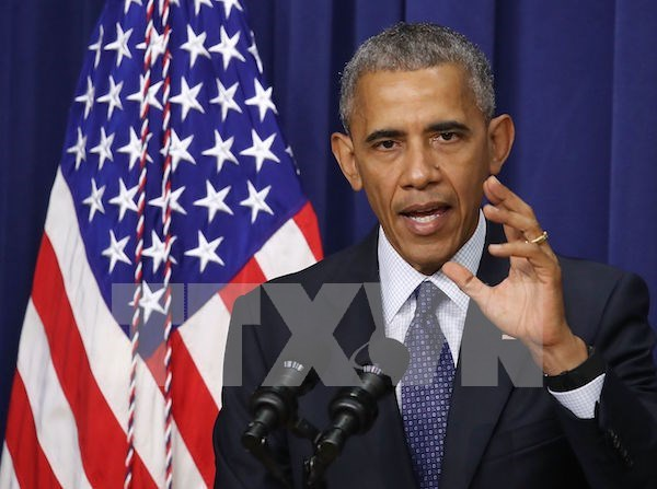 US President's interview on Hague's tribunal ruling over East Sea hinh anh 1