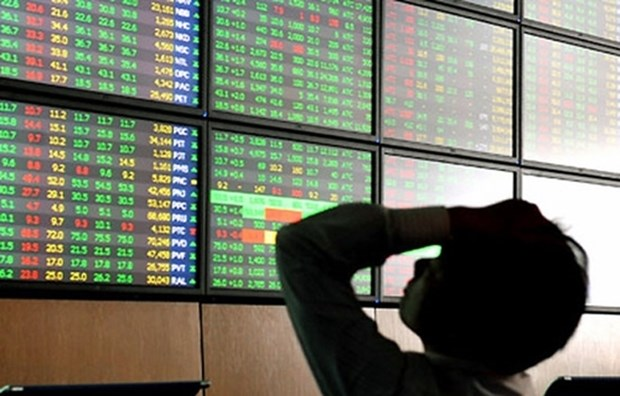Vietnamese shares decline to one-month low hinh anh 1