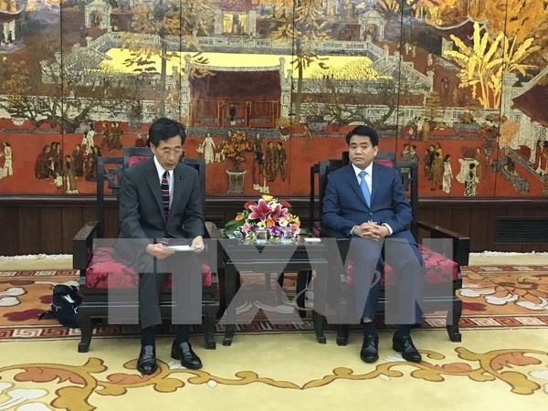 Hanoi calls for Japanese advanced technology in waste treatment hinh anh 1