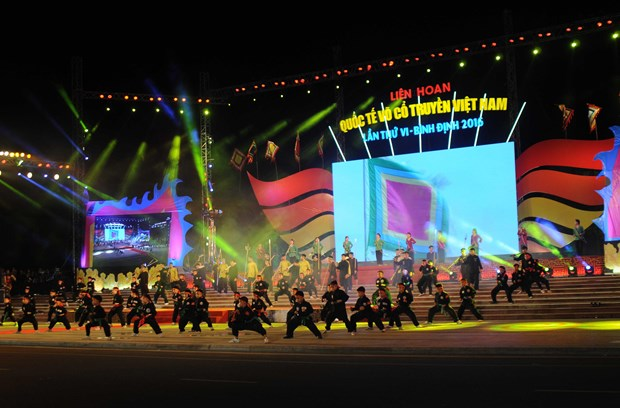 Int'l traditional martial arts festival in full swing in Binh Dinh hinh anh 1